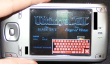 PocketPC, U7P1, Start New Game, Keyboard lower-right